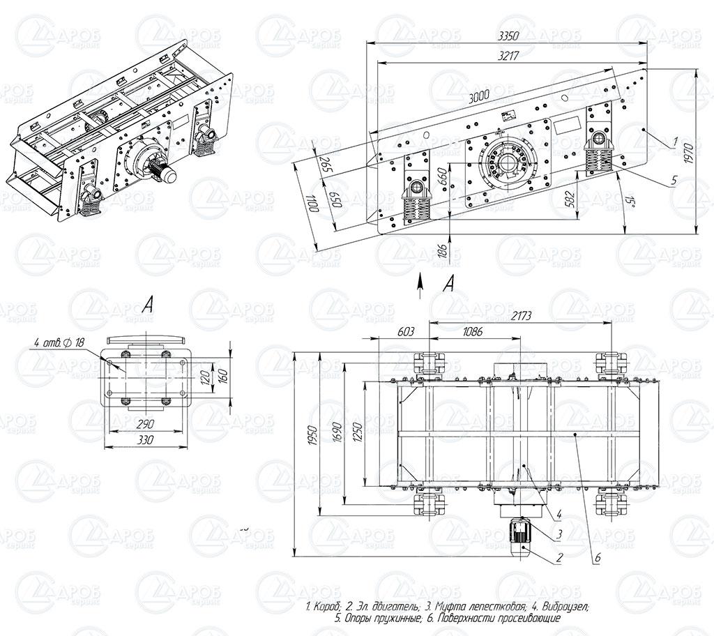 Грохот инерционный гил 32 в Нововоронеж производство горно шахтного оборудования в Петропавловск-Камчатский